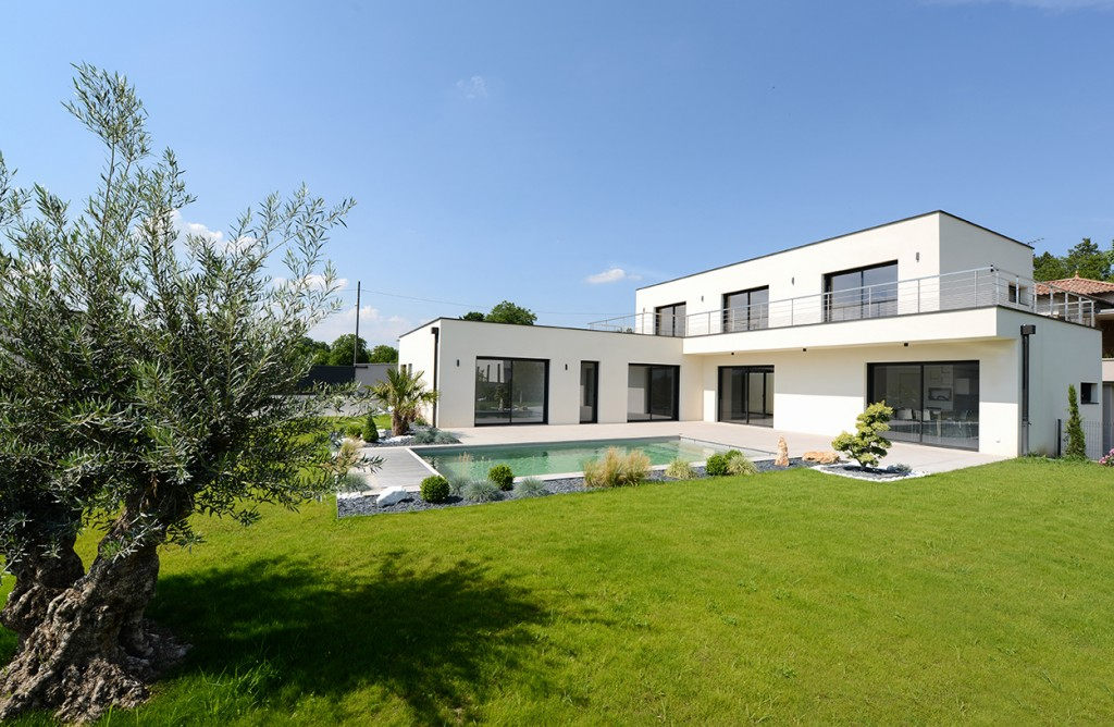 Awesome jardin maison contemporaine ideas amazing house for Jardin maison contemporaine