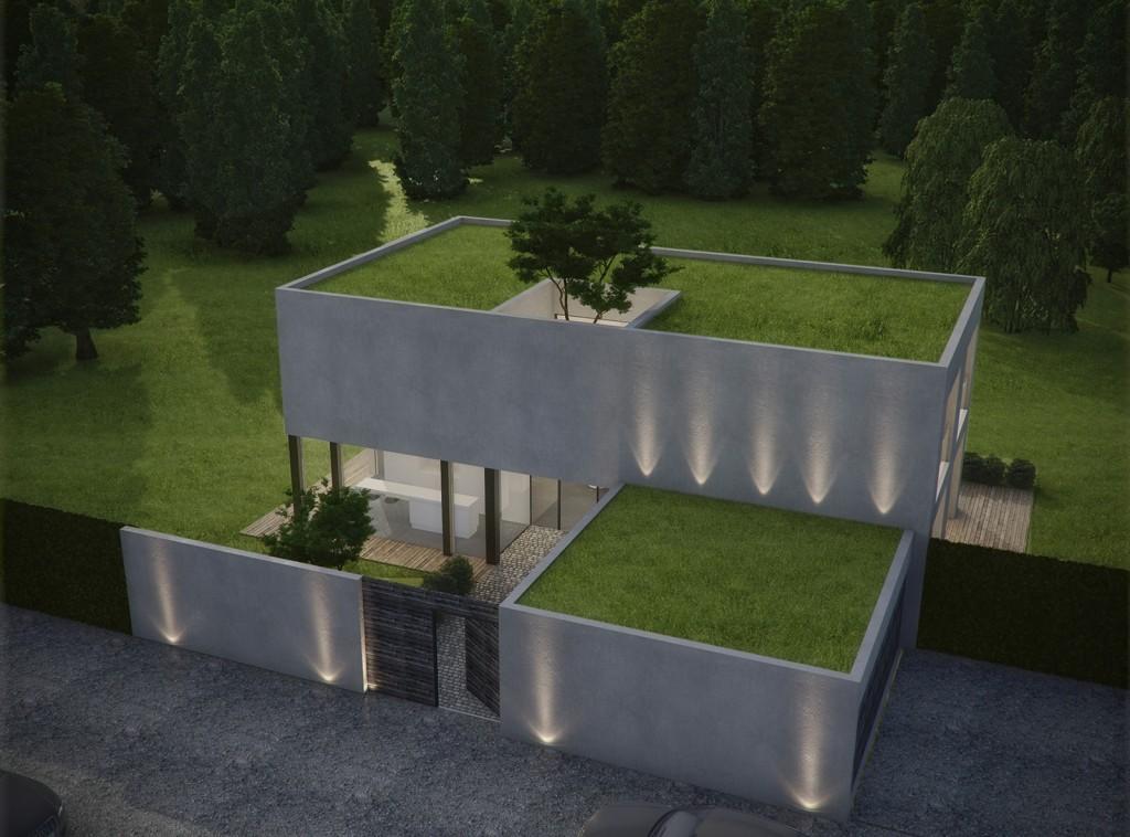 Maison toit vegetal les habitations sont pour rpondre for Maison avec toit vegetal