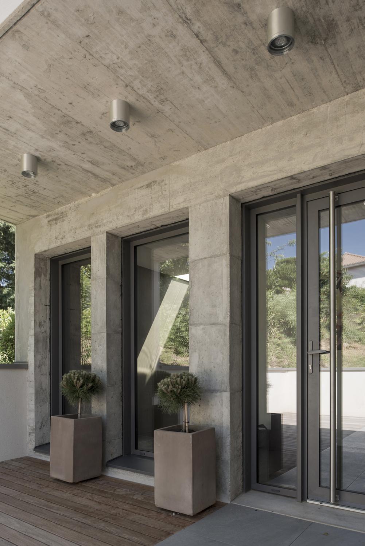 façade beton maison moderne lyon | Photos intérieurs / extérieurs de ...