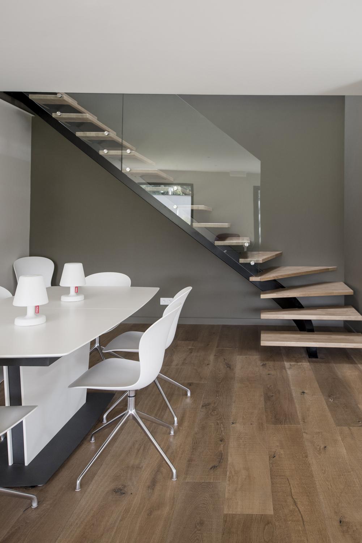Maison Avec Escalier Contemporaine Lyon Photos Interieurs Exterieurs De Nos Realisations Selection Artisanale