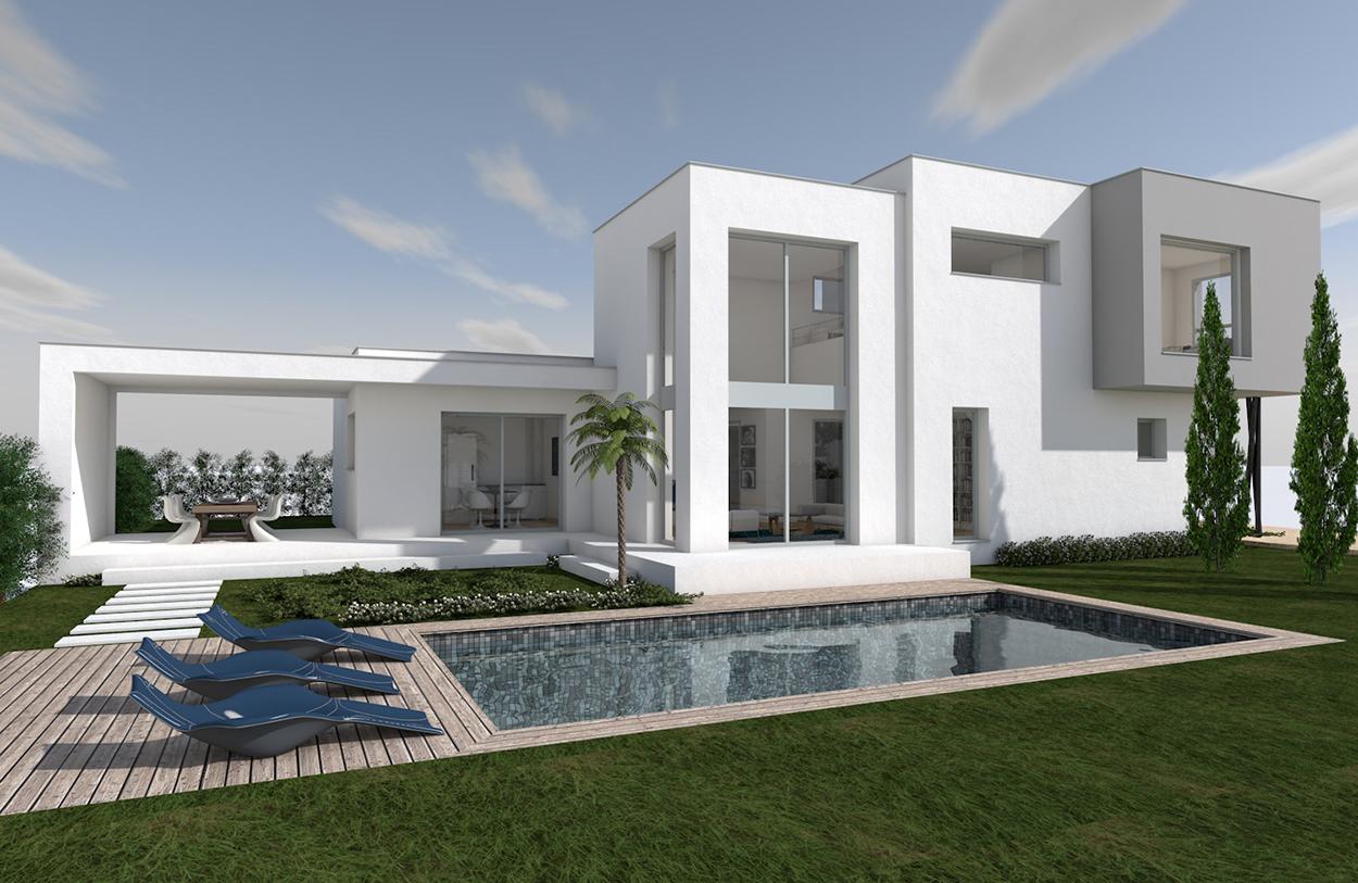 maison cubique toit plat | Photos intérieurs / extérieurs de ...